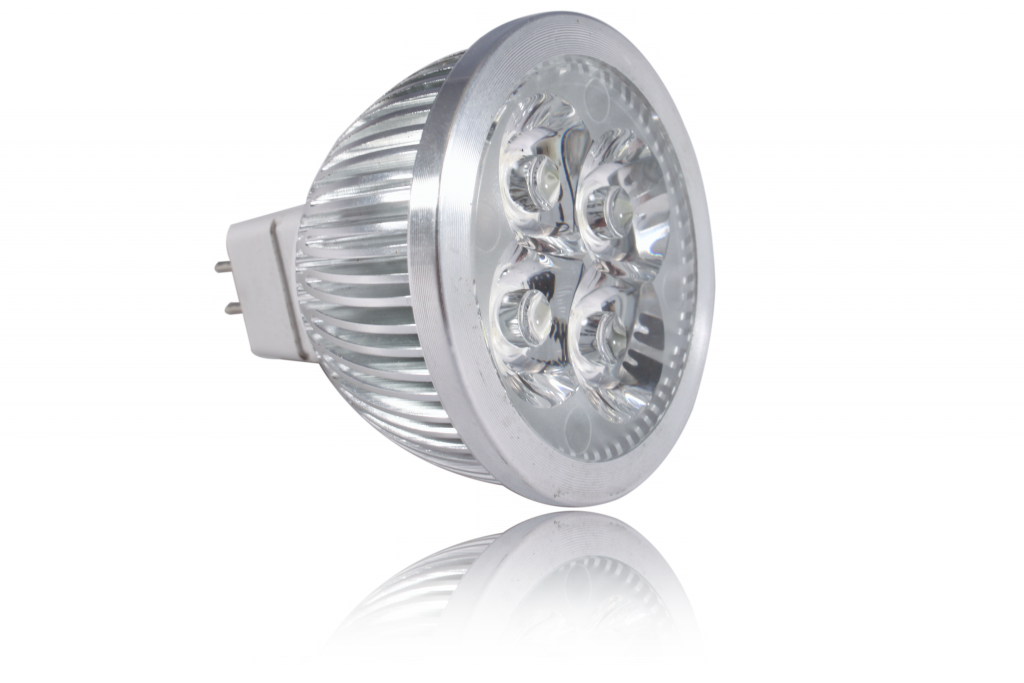 LED bodovka 4W, MR16, 60°