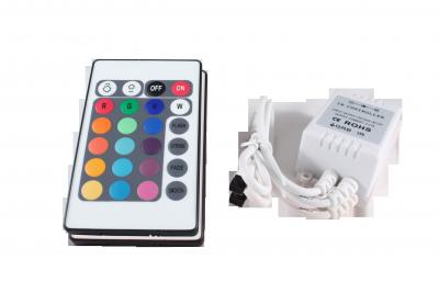 LED bezdrátový ovladač RGB 24 tlačítek