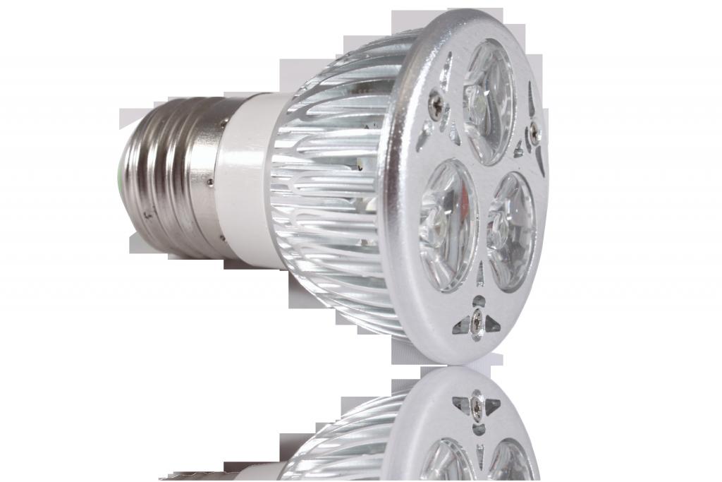 LED bodovka 3W, E27, 60°