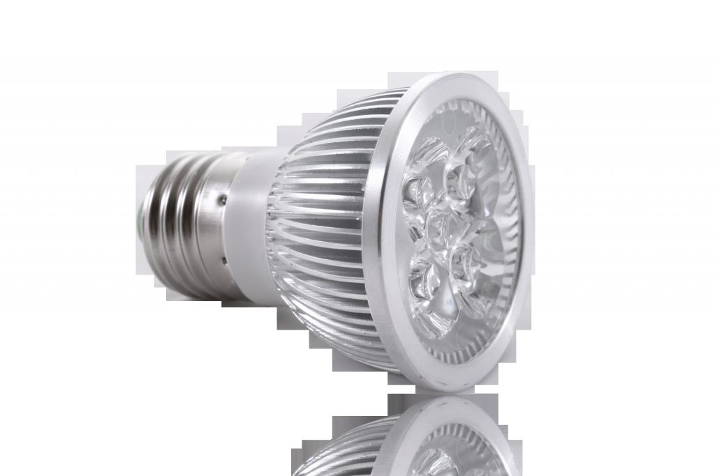 LED bodovka 4W, E27, 60°