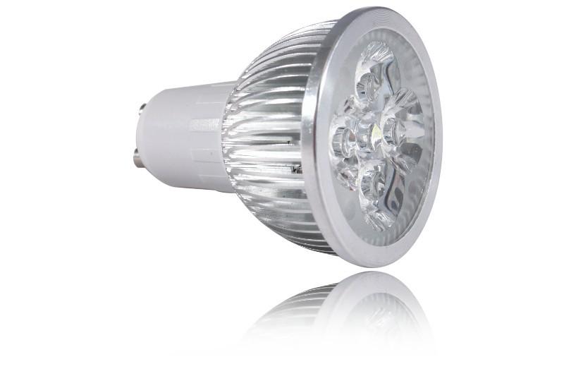 LED bodovka 4W, GU10, 60°