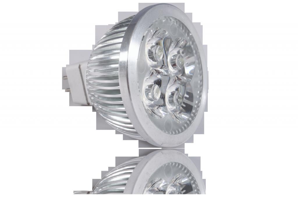 LED bodovka 4W, MR16, 60°