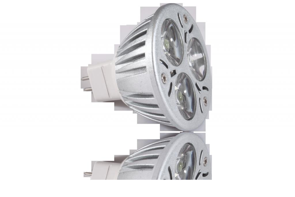 LED bodovka 3W, MR16, 60°